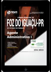 Download Apostila Câmara Municipal de Foz do Iguaçu - PR PDF - Agente Administrativo I