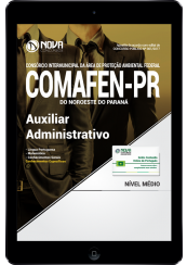 Download Apostila COMAFEN - PR PDF - Auxiliar Administrativo