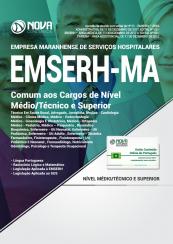 Apostila EMSERH - MA - Comum aos Cargos de Nível Médio,Técnico e Superior