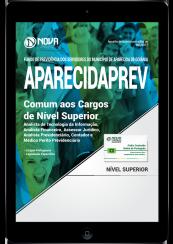 Download Apostila AparecidaPREV - GO PDF - Comum aos Cargos de Nível Superior