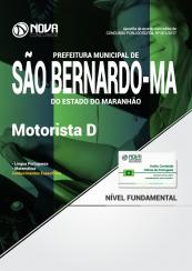 Apostila Prefeitura De São Bernardo - MA - Motorista D