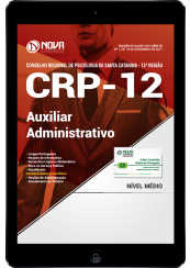 Download Apostila CRP - SC PDF - Auxiliar Administrativo