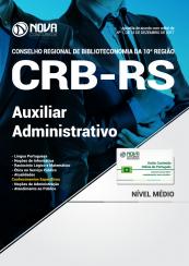 Apostila CRB-RS - Auxiliar Administrativo