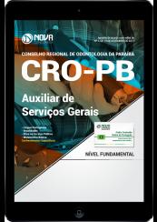 Download Apostila CRO - PB PDF - Auxiliar De Serviços Gerais