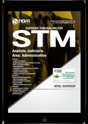 Download Apostila STM PDF - Analista Judiciário - Área Administrativa