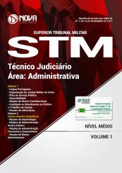 Apostila STM - Técnico Judiciário - Área Administrativa
