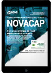 Download Apostila NOVACAP PDF - Comum aos Cargos de Nível Médio/Técnico e Superior