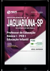 Download Apostila Prefeitura Municipal de Jaguariúna-SP PDF - Professor de Educação Básica I - PEB I - Educação Infantil