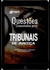 Download e-Book Questões Comentadas para Tribunais de Justiça