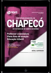 Download Apostila Prefeitura de Chapecó - SC PDF - Professor Licenciatura Plena Área de Atuação: Educação Infantil