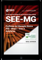 Download Apostila SEE-MG PDF - Professor de Educação Básica - PEB - Nível I - Grau A: Arte/Artes