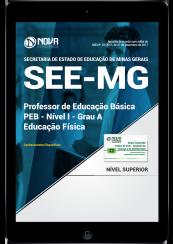 Download Apostila SEE-MG PDF - Professor de Educação Básica - PEB - Nível I - Grau A: Educação Física