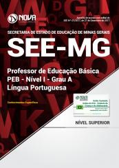 Apostila SEE-MG - Professor de Educação Básica - PEB - Nível I - Grau A: Língua Portuguesa