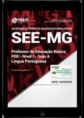 Download Apostila SEE-MG PDF - Professor de Educação Básica - PEB - Nível I - Grau A: Língua Portuguesa