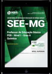Download Apostila SEE-MG PDF - Professor de Educação Básica - PEB - Nível I - Grau A: Química