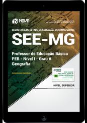 Download Apostila SEE-MG PDF - Professor de Educação Básica - PEB - Nível I - Grau A: Geografia