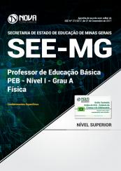 Apostila SEE-MG - Professor de Educação Básica - PEB - Nível I - Grau A: Física