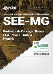 Apostila SEE-MG - Professor de Educação Básica - PEB - Nível I - Grau A: História