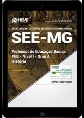 Download Apostila SEE-MG PDF - Professor de Educação Básica - PEB - Nível I - Grau A: História
