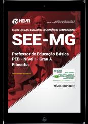 Download Apostila SEE-MG PDF - Professor de Educação Básica - PEB - Nível I - Grau A: Filosofia