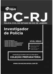 PC - RJ - Investigador Policial (Impresso)