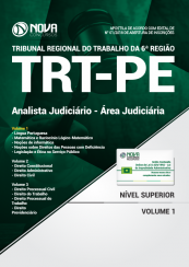 Apostila TRT-PE - Analista Judiciário - Área Judiciária