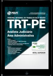 Download Apostila TRT-PE PDF - Analista Judiciário - Área Administrativa