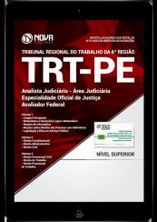 Download Apostila TRT-PE PDF - Analista Judiciário - Área Judiciária - Especialidade Oficial de Justiça Avaliador Federal