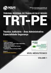 Apostila TRT-PE - Técnico Judiciário - Área Administrativa - Especialidade Segurança