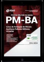 Download Apostila PM-BA (CFO) PDF - Curso de Formação de Oficiais Auxiliares Policiais Militares