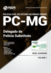 Apostila PC-MG - Delegado Substituto