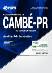 Apostila Câmara de Cambé - PR - Auxiliar Administrativo