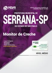 Apostila Prefeitura de Serrana - SP - Monitor de Creche