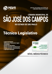 Apostila Câmara Municipal de São José dos Campos - SP - Técnico Legislativo
