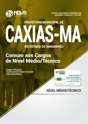 Apostila Prefeitura de Caxias - MA - Comum aos Cargos de Nível Médio/Técnico