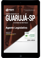 Download Apostila Câmara do Guarujá - SP PDF - Agente Legislativo