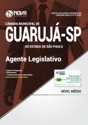 Apostila Câmara do Guarujá - SP - Agente Legislativo