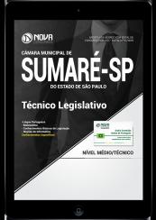 Download Apostila Câmara de Sumaré - SP PDF - Técnico Legislativo