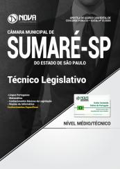 Apostila Câmara de Sumaré - SP - Técnico Legislativo