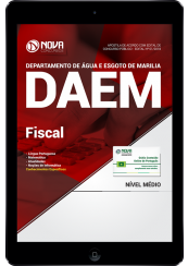 Download Apostila DAEM Marília SP PDF - Fiscal