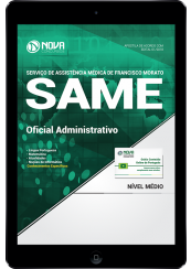 Download Apostila SAME Francisco Morato - SP PDF - Oficial Administrativo