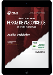 Download Apostila Câmara de Ferraz de Vasconcelos - SP PDF - Auxiliar Legislativo
