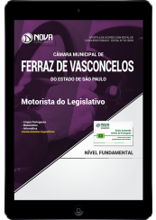 Download Apostila Câmara de Ferraz de Vasconcelos - SP PDF - Motorista do Legislativo