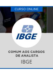Curso Online IBGE - Comum aos Cargos de Analista