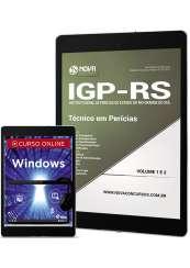 Download Apostila IGP-RS Pdf - Técnico em Perícias