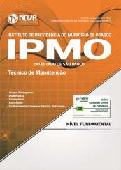 Apostila IPMO-SP - Técnico de Manutenção