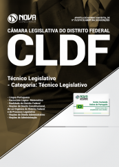 Apostila Câmara Legislativa DF (CLDF) 2018 - Técnico Legislativo - Categoria: Técnico Legislativo