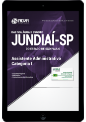 Download Apostila DAE de Jundiaí - SP - Assistente Administrativo - Categoria I (PDF)