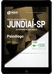 Download Apostila DAE de Jundiaí - SP - Psicólogo (PDF)