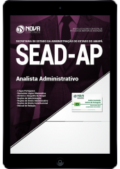 Download Apostila SEAD-AP - Analista Administrativo (PDF)
